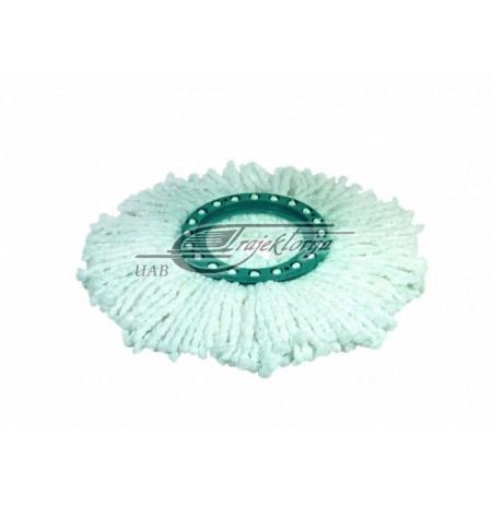 Attachment replaceable for mop LEIFHEIT Clean Twist mikrofaza 52095 (Microfiber, Plastic)
