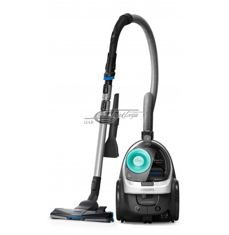 Vacuum cleaner bagless for floor Philips PowerPro Active FC9553/09 (750W, white color)