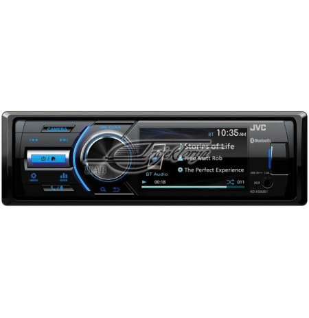 Portable stereo car JVC KDX-560BT (Bluetooth, USB + AUX)