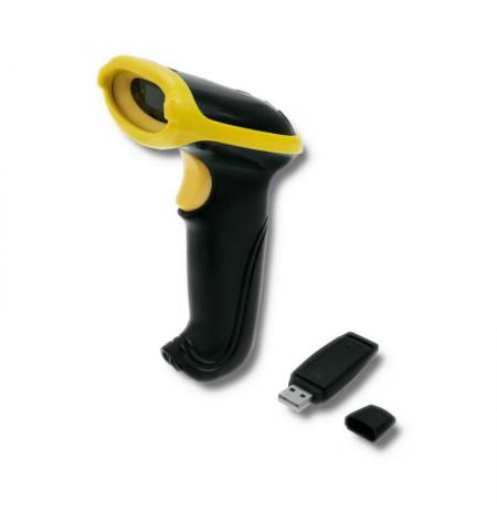 Qoltec Wireless barcode reader 1D   2,4GHz