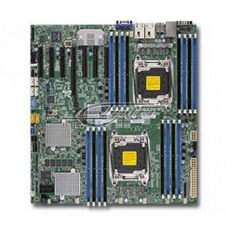 Plate mainboard Supermicro MBD-X10DRH-C-O (LGA 2011, 16x DDR4 LRDIMM, DDR4 RDIMM, Extended ATX)