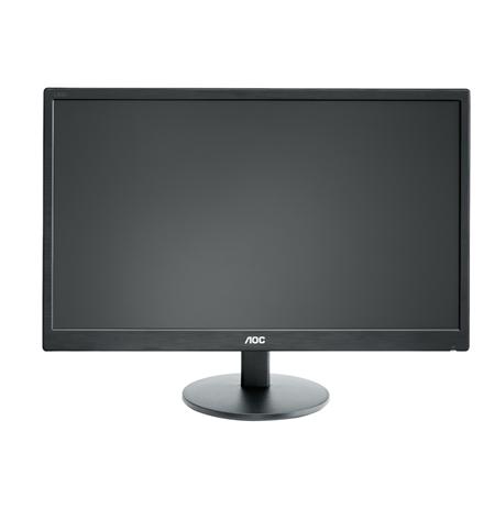 "AOC E2270SWN 21,5"" LED/16:9/1920×1080/200cdm2/5ms/H-90,V-65/20M:1/VGA/Tilt,Vesa/Black"