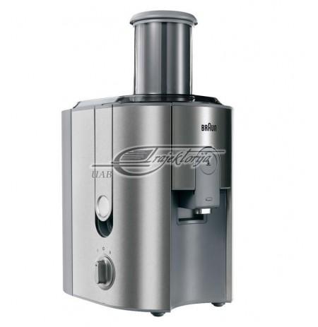 Juicer Traditional For fruit Braun J 700 Metal (1000W, inox color)