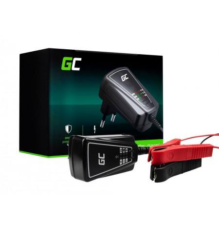 Automatyczna Ladowarka, Prostownik Green Cell do akumulatorow 6V / 12V (1A)