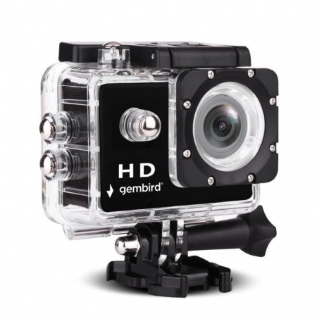 Gembird HD 1080p action camera with waterproof case ACAM-04