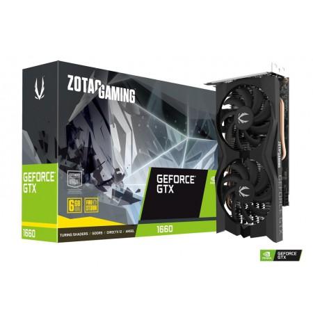 ZOTAC GeForce GTX 1660, Dual Fansink, 6GB GDDR5, 3xDP, HDMI