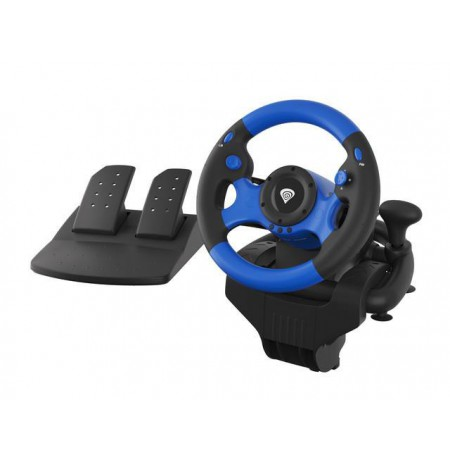 Steering wheel NATEC Genesis Seaborg 350 NGK-1566 (NS, PC, PS3, PS4, Xbox 360, Xbox One)