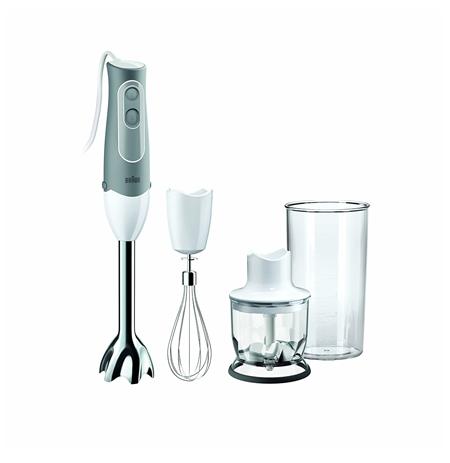 Braun Blender MQ525 White, 600 W, BPA-free plastic, 0.6 L, Mini chopper, 12500 RPM