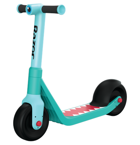 "Razor Wild ones Junior Kick Scooter, 6.5"" "", Shark"