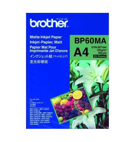 BROTHER MATTE INKJET PAPER A4 (25SH)