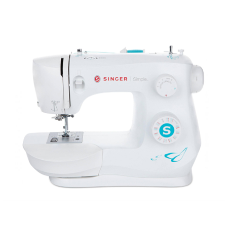 Singer Sewing Machine 3337 Simple™ Number of stitches 29, Number of buttonholes 1, White