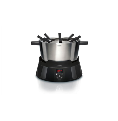 Caso FonDue Set Electric, 1000 W, Black