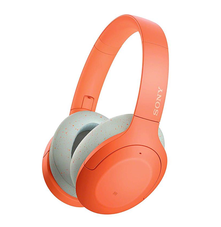 Sony WHH910ND Over-ear, Noice canceling, Wireless, Yes, Orange
