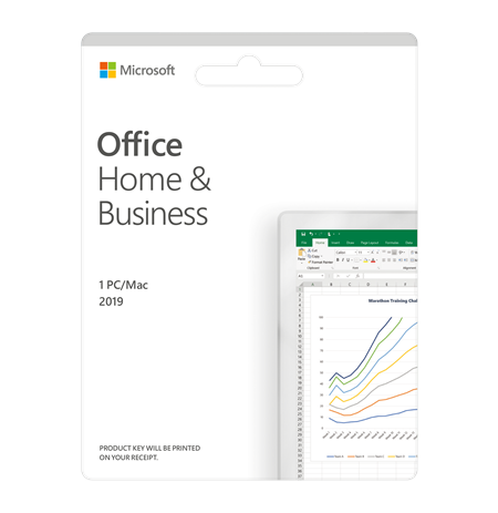 Microsoft Office Home and Business 2019 T5D-03308 One-time purchase, English, Medialess, P6