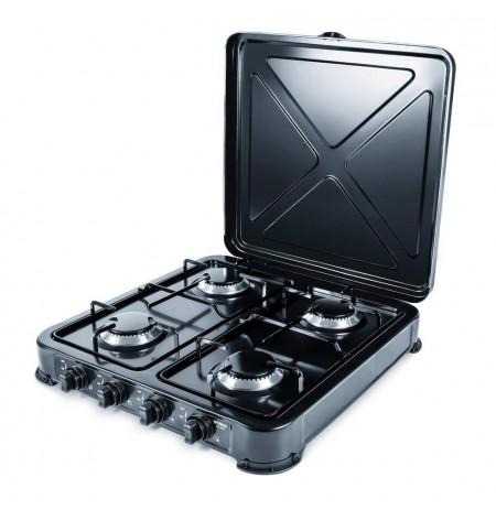 PROMIS KG400 Four-burner gas stove black