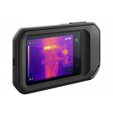 FLIR C-5 thermal imaging camera 160 x 120 pixels Black Built-in display
