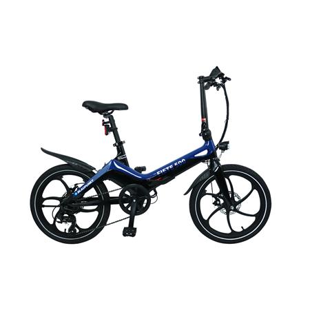 """Blaupunkt Fiete 500, E-Bike, 250 W, 20 """", 25 km/h, Blue/Black"""