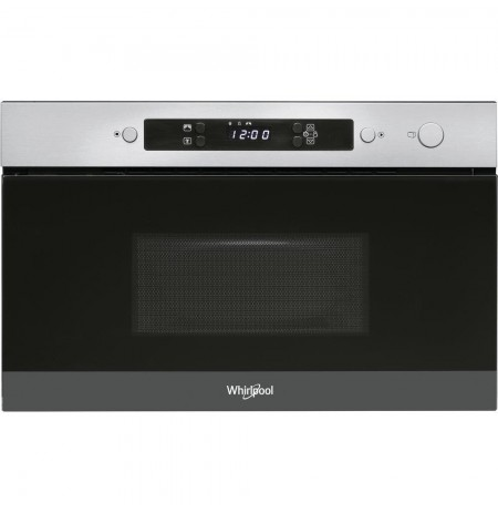 Whirlpool AMW 4900/IX microwave Built-in Solo microwave 22 L 750 W Stainless steel