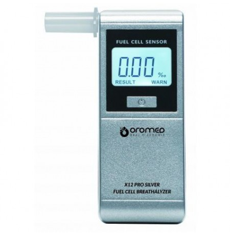 Oromed X12 PRO SILVER alcohol tester