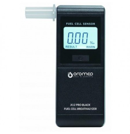 Oromed X12 PRO BLACK alcohol tester