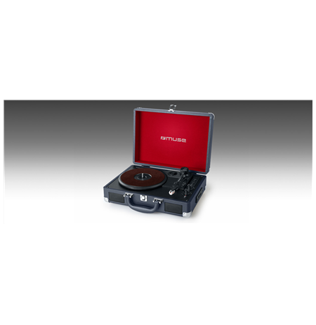 Muse Turntable Stereo System MT-103 DB 3 speeds, USB port, AUX in