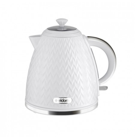 NELA kettle, 1.7 l capacity, 2000 W power, white