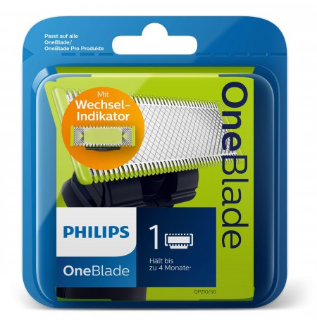 Philips Norelco OneBlade Trim, edge, shave Replaceable blade
