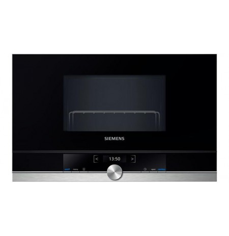 Siemens BE634RGS1 microwave Built-in 21 L 900 W Black,Stainless steel