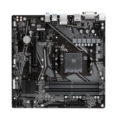 Gigabyte A520M DS3H Processor family AMD