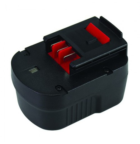 Akumuliatorius įrankiams BLACK&ampDECKER A1712, 12V, 3Ah, Ni-Cd