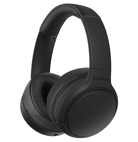 Panasonic Deep Bass Wireless Headphones RB-M300BE-K Over-ear, Microphone, Black