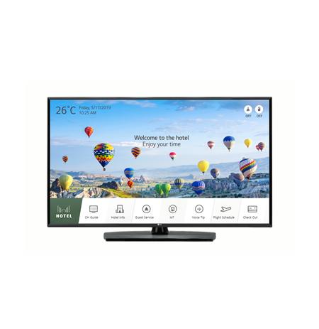 """LG 49UT662H0ZB 49 """", Landscape, Smart TV, UHD, 3840 x 2160, Wi-Fi, DVB-T2/C/S2, Black"""