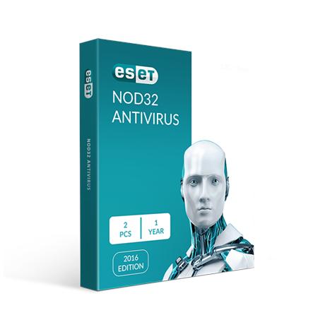 Eset NOD32 Antivirus 13, New licence, 1 year(s), License quantity 2 user(s), BOX
