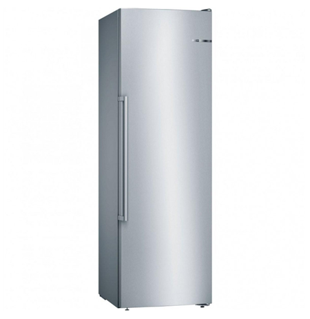 Bosch Freezer GSN36VIFV A++, Free standing, Upright, Height 186 cm, No Frost system, 39 dB, Stainless steel