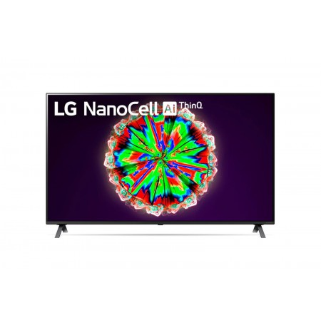 "LG NanoCell 49NANO80 124.5 cm (49"") 4K Ultra HD Smart TV Wi-Fi Titanium"