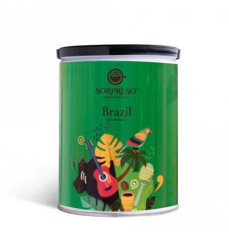 Malta kava SORPRESO BRAZIL YELLOW BOURBON 250g (Skardinėje)