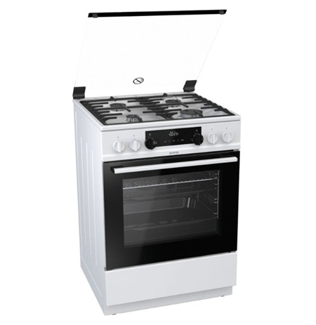 Gorenje Cooker K634WF Hob type  Gas