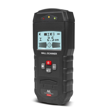 Maclean MCE640 Wall Scanner Locating Device 3 in 1 Cable Wood Metal Detector Wall Sensor LCD Display for Wood Live AC Wire