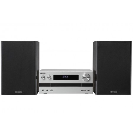 Kenwood M-918DAB Home audio micro system Aluminium, Black 100 W