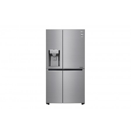 LG GSL960PZVZ combi-fridge Freestanding 601 L A++ Grey