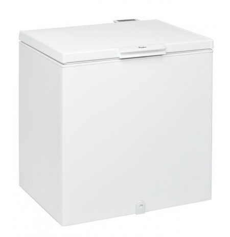 Freezer chest Whirlpool WHS 2121 (806mm / 865mm / 642 mm, white color, Class A+)