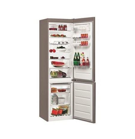Whirlpool BSNF 9552 OX fridge-freezer Freestanding 349 L Stainless steel