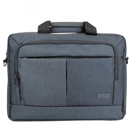 """Addison 312015 notebook case 39.6 cm (15.6"""") Toploader bag Grey"""