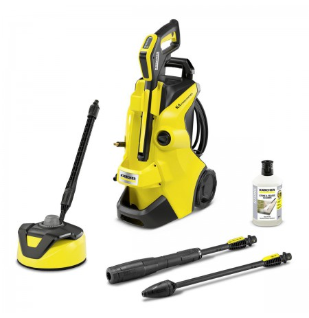 Kärcher K 4 POWER CONTROL HOME pressure washer Upright Electric 420 l/h Black, Yellow