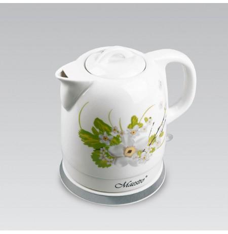 Keramikinis virdulys 1,5L Maestro MR-066-W