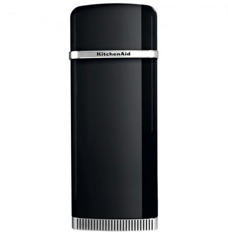 KitchenAid KCFMB 60150R combi-fridge Freestanding 230 L Black