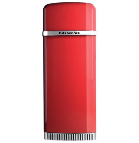 KitchenAid KCFME 60150L combi-fridge Freestanding 230 L Red