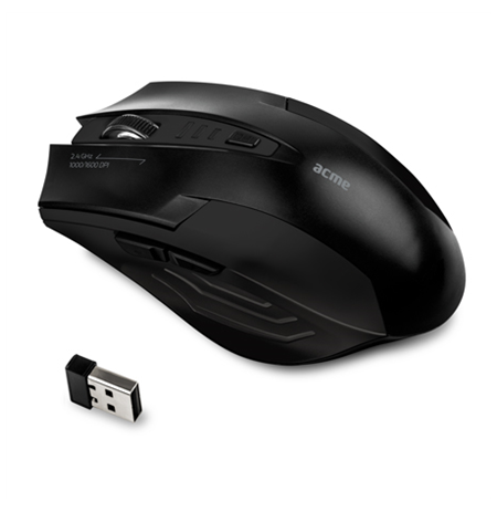 Bevielė pelė ACME MW14 Functional wireless mouse