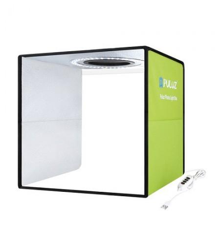 Fotografavimo dėžė su LED apšvietimu, 30x30x30cm