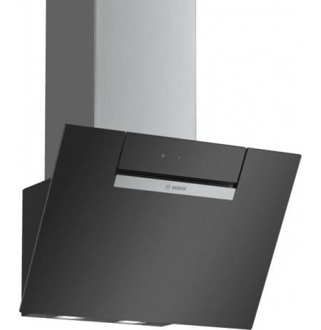 Bosch Serie 2 DWK67EM60 cooker hood Wall-mounted Black 399 m³/h B